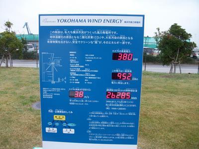 電気科 横浜市風力発電所
