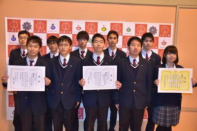 ⑧埼玉県工業高校生プログラミングコンテストプログラミング部門入賞