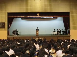 生徒総会の様子