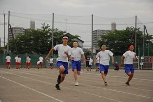 100m走の様子