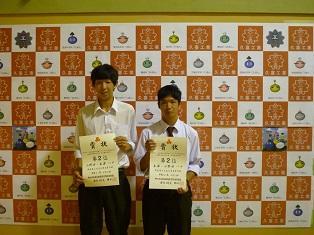 ソフトテニス部入賞ソフトテニス部2