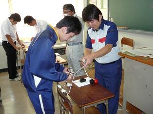 電気工事士体験①