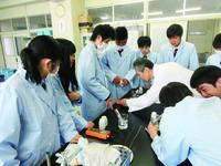 排水処理実験