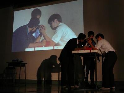 生徒会企画「腕相撲大会」
