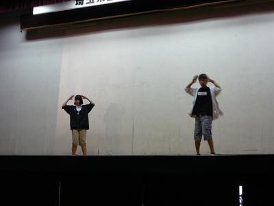 有志によるダンス